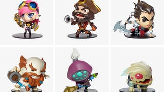 <i>League Of Legends</i> Official Vinyl Figures Are Stupid Cute