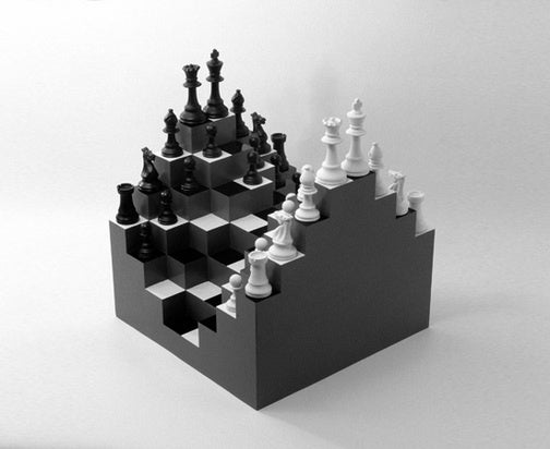 3D Chessboard Is Like Q*bert for Smart People