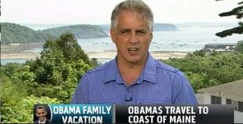 Shirt-Changing Newsman Sets Media World Afire