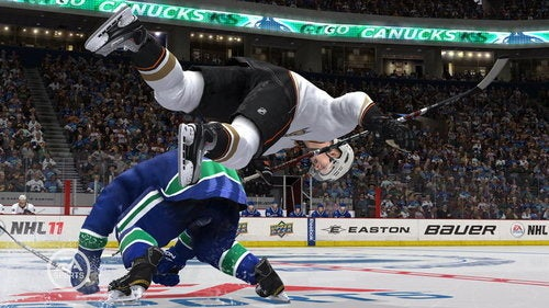 Just Don't Get Kicked Out of the Circle in NHL 11