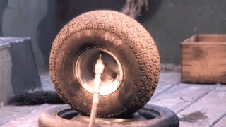 Watch A Tire Explode At 170 PSI In Slow Motion
