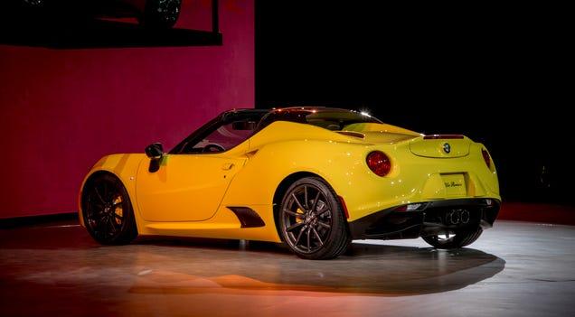 Alfa romeo 4c exhaust sound 10