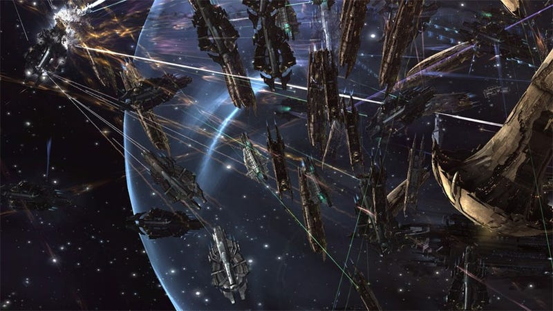 The Biggest Space Fight In History Involved Over 4000 Pilots