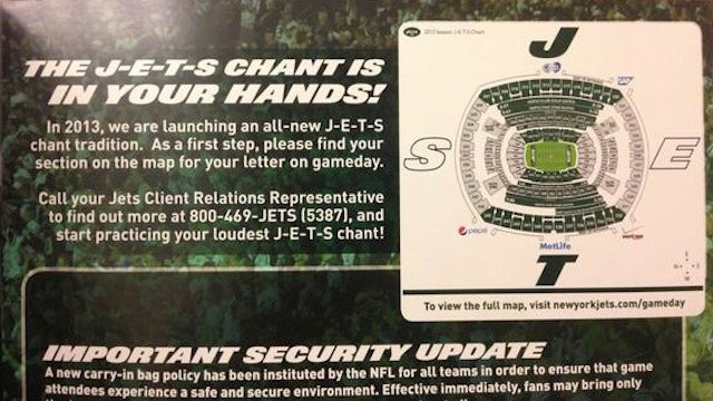 The Jets Will Crowdsource Fireman Ed's Old Chant