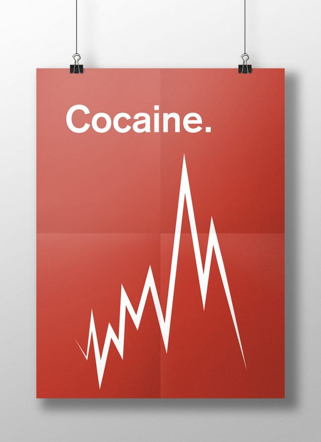 These Posters Show Your Brain On Drugs