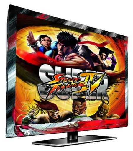 You'll Never Want to Turn Off this Street Fighter HDTV