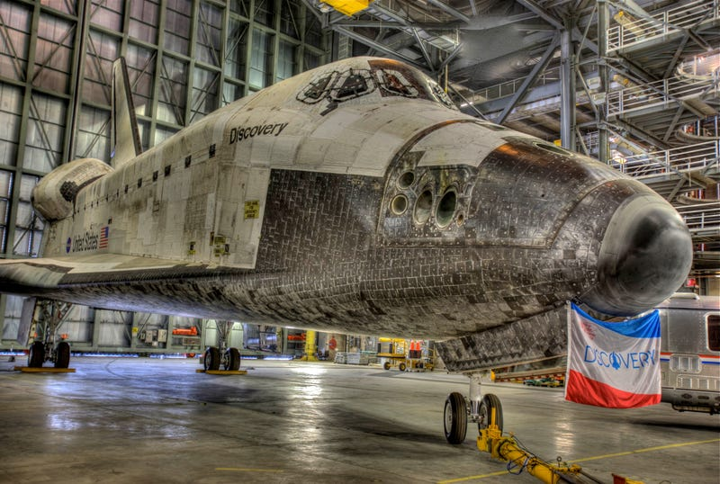 Breathtaking new photos of Space Shuttle Discovery preparing for its final flight