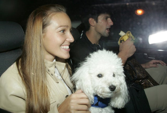 "Novak Djokovic Just Can't Bear To Be Apart From His ""Impeccably Groomed, Snow White Toy Poodle"" Pierre"