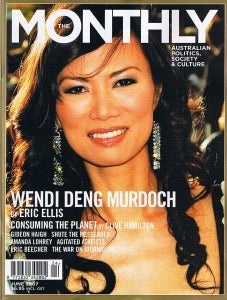 Murdoch's Minions Fixed Up Wendi Deng's Wikipedia Entry