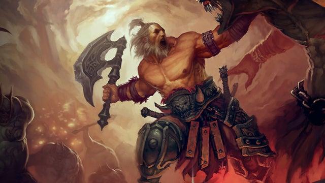 Barbarian God-Like Exploit Discovered in Diablo III