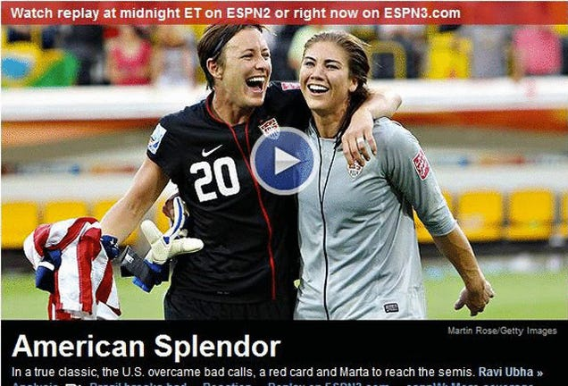 Who's Afraid Of Hope Solo's Nipple?