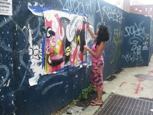 Artist Arrested While Clearly Not Doing Graffiti
