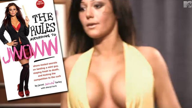 JWoww And Her Boobs Wrote An Advice Book