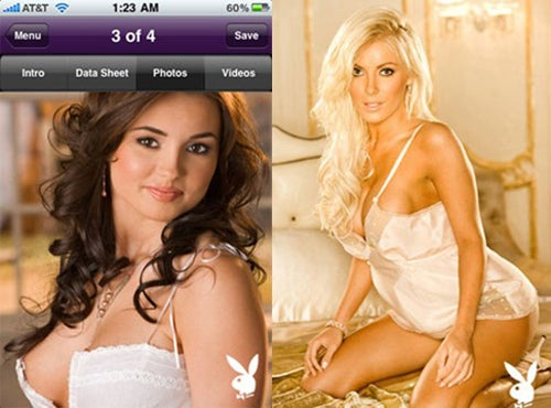 Official Playboy iPhone App Doesn't Include Interesting Articles