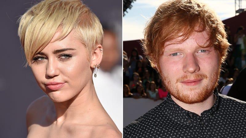 Miley Cyrus Called Ed Sheeran an 'Asshole' at the MTV VMAs