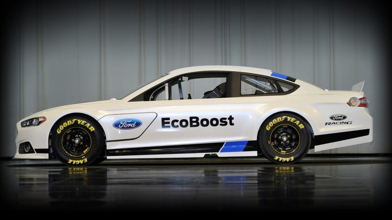 Nascar's New Ford Fusion Is One Sweet-Ass Stock Car