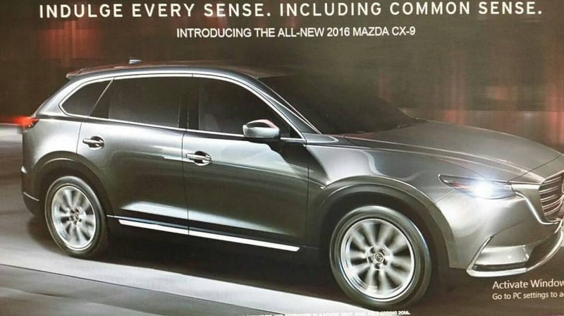 2016 Mazda Cx 9 Leaked Here It Is Mazda Cx3 Forum