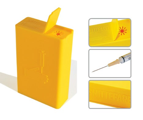 Urban Needle Box Concept Aimed at Responsible Drug Addicts, an Oxymoron if Ever There Was One