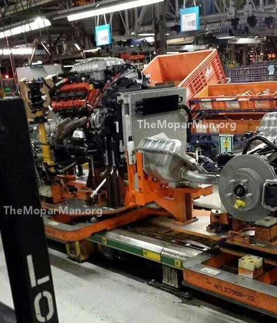 New Challenger SRT Hellcat Leaked
