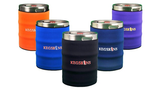 Yes, This Is a Neoprene Keg Coozie