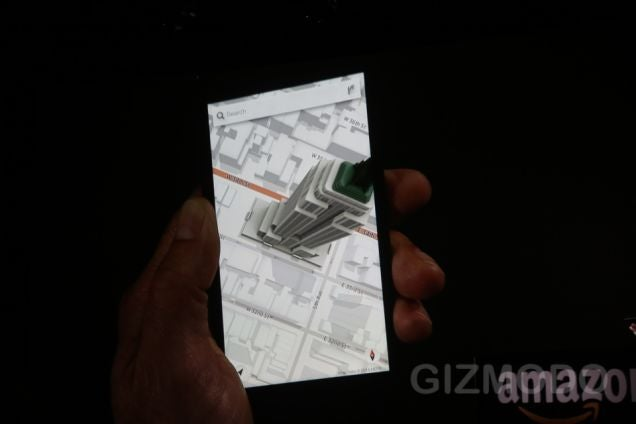 Fire Phone's Dynamic Perspective: A 3D Effect That Follows Your Face