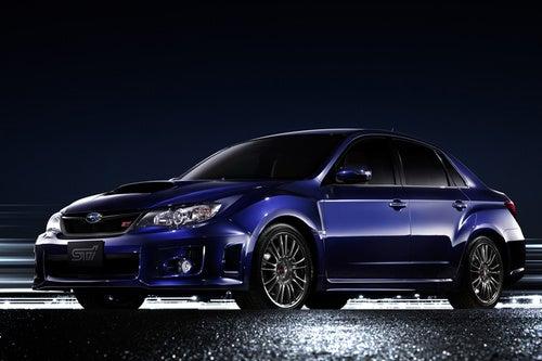 Yep, That's A Factory-Built Subaru STI Automatic