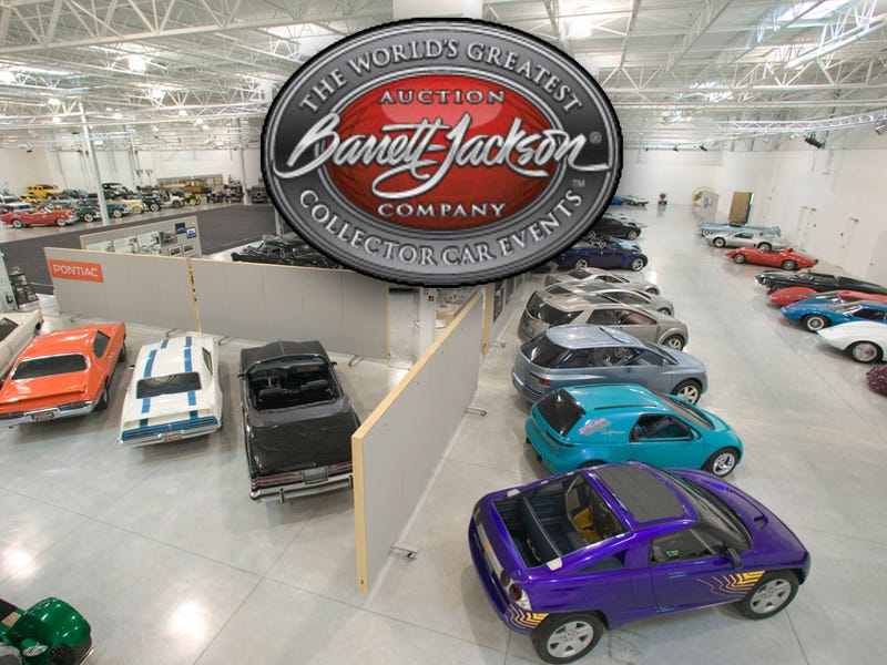 Live Tonight On Speed: GM Heritage Center Cars Auctioned At Barrett-Jackson