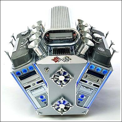 V8 Engine Case Mod, Safe at Any Speed
