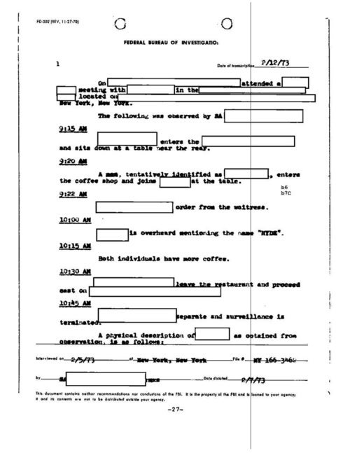 The Four-Year FBI Bribery Investigation Targeting Henry Hyde