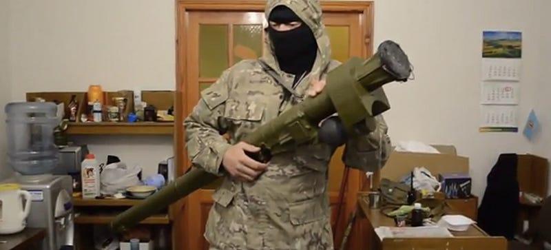 Shoulder Fired SAM Threat Exploding Over Battlefield Ukraine