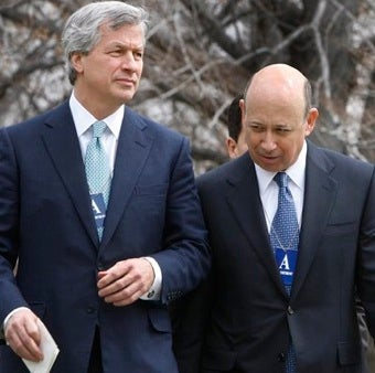 Blankfein, Dimon Snubbed From Financial Reform Signing Ceremony