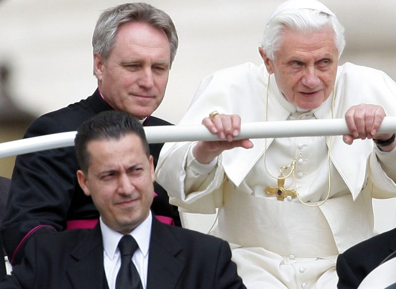 Farewell to Pope Benedict and His Rumored Secret Boyfriend (A Handsome Young Archbishop)