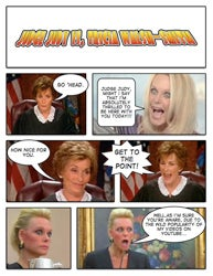 Judge Judy Vs. The YouTube Divorce Lady, Tricia Walsh-Smith