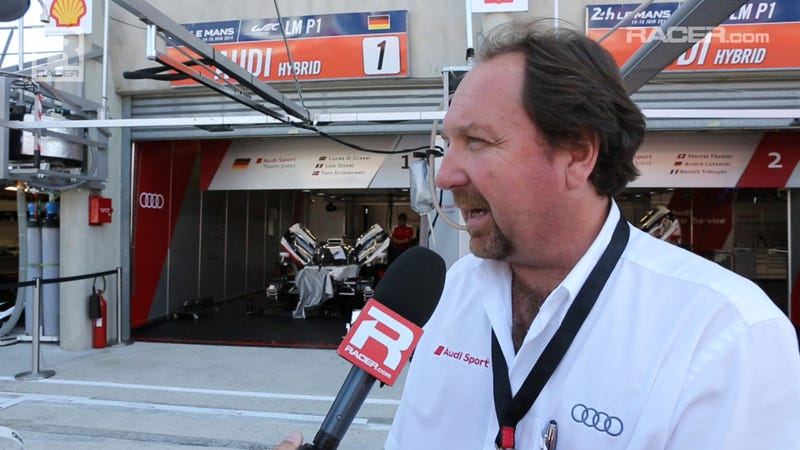 Audi R18 No. 1 Replacement Le Mans Update With Brad Kettler