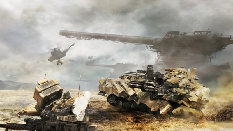 Armored Core V Closed Beta Delay. Guess Why?
