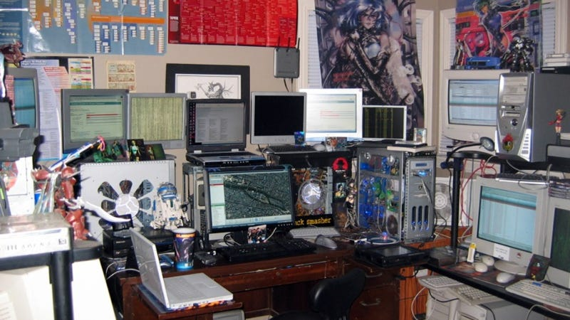 The Craziest Home Desktop Computer Rigs on the Planet
