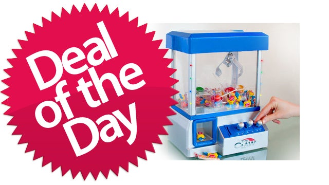 """The Claw"" Candy and Toy Machine Is Your ""Never Again"" Deal of the Day"