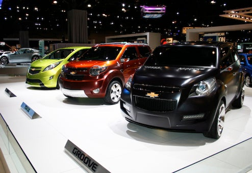 Chevy Trax Or Groove Subcompact Coming To US In 2011