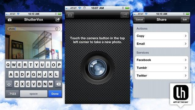 ShutterVox Takes Photos When it Hears the Magic Word (Cheese!)