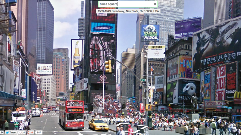 Instant Google Street View Autocompletes Map Searches On the Fly