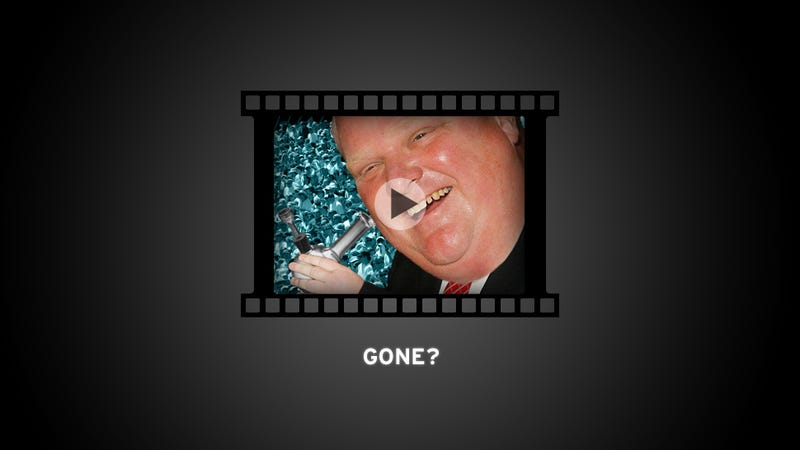 "The Rob Ford Crack Video Might Be ""Gone"""
