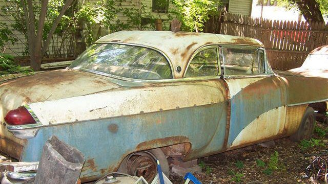 Former Car Dealer's Collection Of Decaying Packards Head To Auction