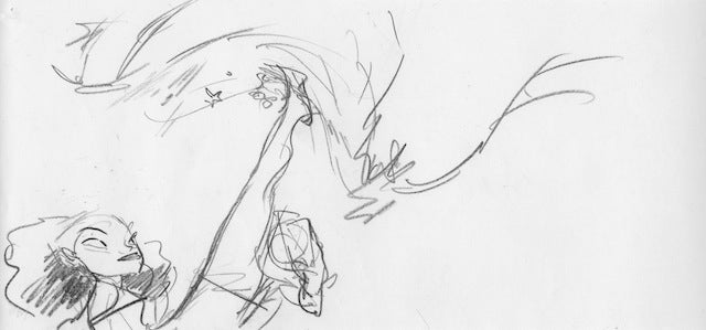 Unused Croods storyboards are carnivorous plant-fightingly fantastic