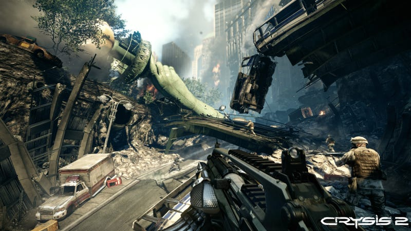 Crysis 2 Is For Future-Soldiers Who Want To Think