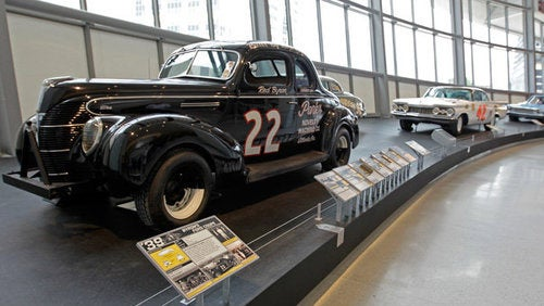 NASCAR Hall Of Fame Opens, Displays Weird, Stock-Looking Cars