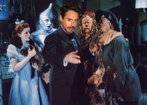 Robert Downey Jr. and Sam Raimi are heading to Oz