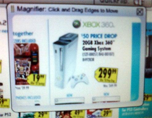 Best Buy Ad Shows Xbox 360 Price Drop