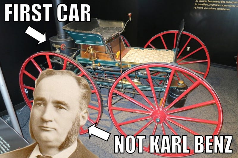 Karl Who? Canada Might Have Invented The Automobile