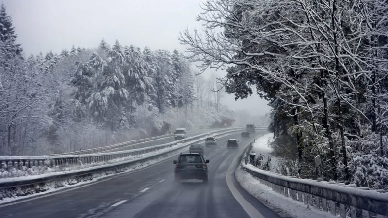 Why Winter Is The Best Time To Drive Across The U.S.