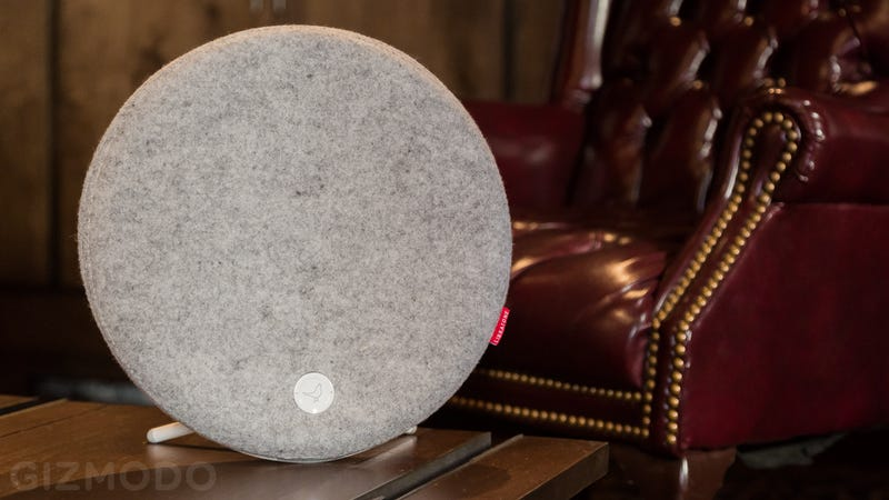 Libratone's Latest Wireless Speaker Is a Wooly, Wall-Mounted Audio Orb
